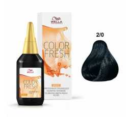 2/0 Nero Color Fresh 75 ml Wella