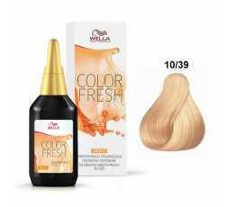 10/39 Biondo platino dorato cendrè Color Fresh 75 ml Wella