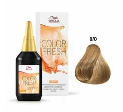 8/0 Biondo chiaro Color Fresh 75 ml Wella